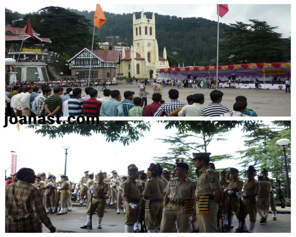 Hari kemerdekaan di Shimla