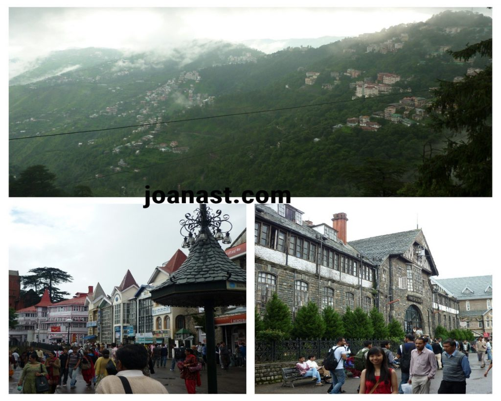 Scandal Point and Town Hall Shimla