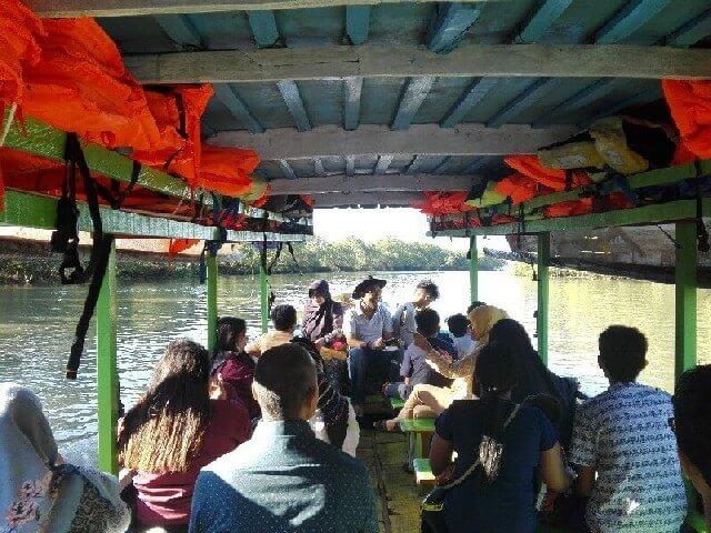 Perahu di Mangrove Forest